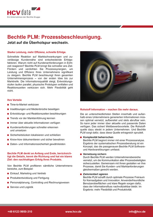 Bechtle_PLM_Prozessbeschleunigung